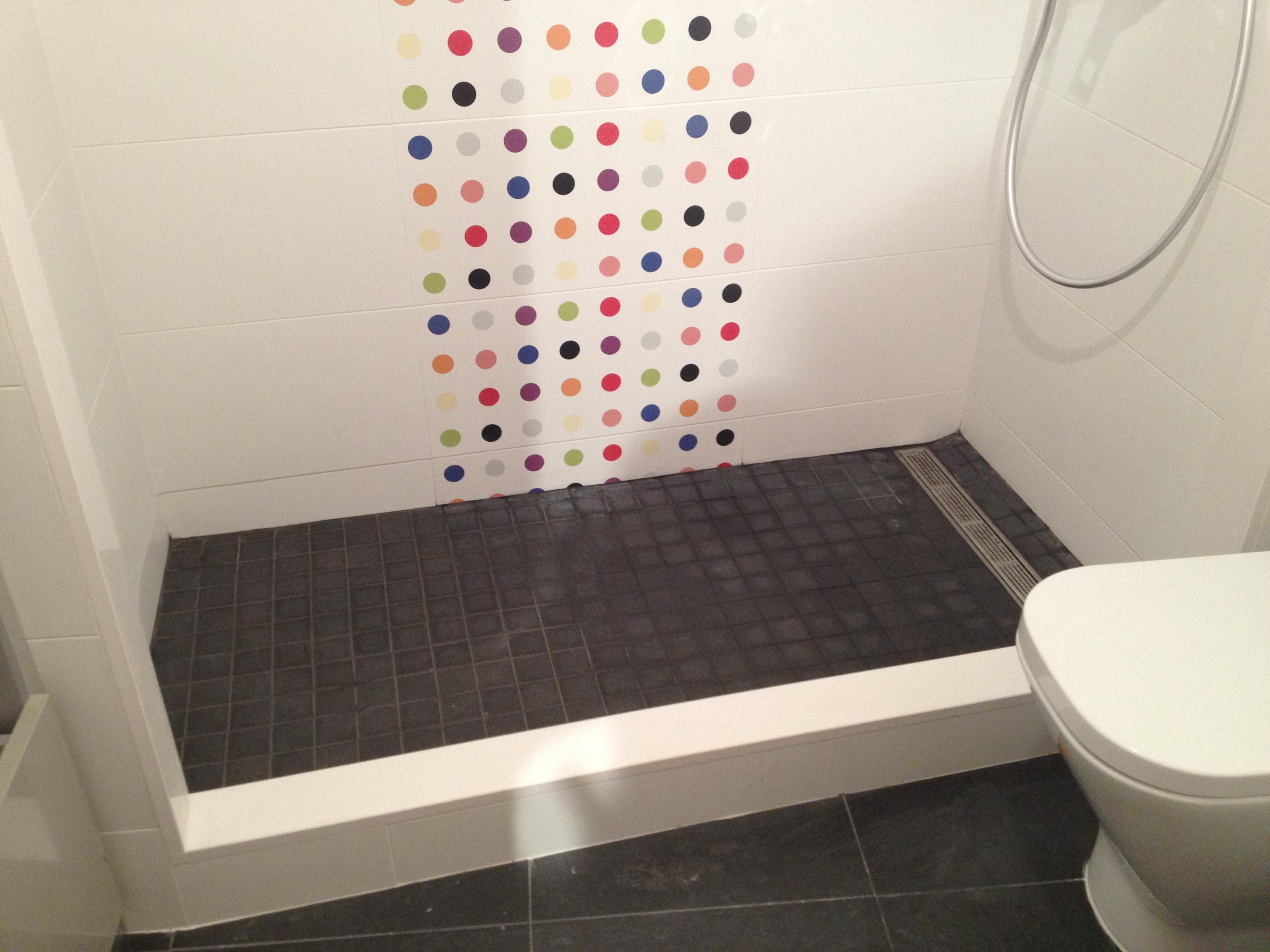 Plats de dutxa d obra prasde sl for Plats de dutxa